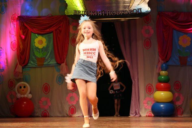 Конкурс Мини-мисс Великий Новгород 2012