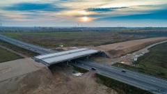 Путепровод на пересечении с Витебским проспектом, 676 км