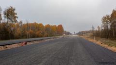 548 км, вид в сторону Санкт-Петербурга