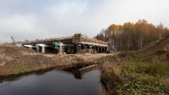 Мост через реку Полисть, 552 км
