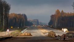 552 км, вид в сторону Санкт-Петербурга