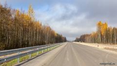 553 км, вид в сторону Санкт-Петербурга
