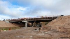 Мост через реку Глушица на 558 км