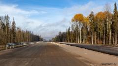 559 км, вид в сторону Санкт-Петербурга