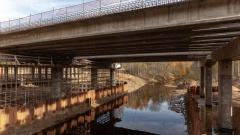 Мост через реку Кересть
