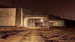 Тоннель под железной дорогой Санкт-Петербург — Гатчина (Варшавский ход)