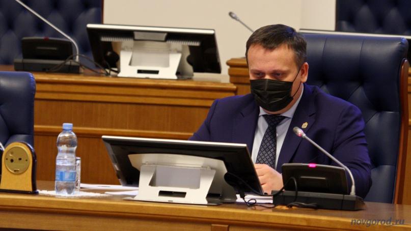 Губернатор Андрей Никитин. © Фото из архива интернет-портала «Новгород.ру»