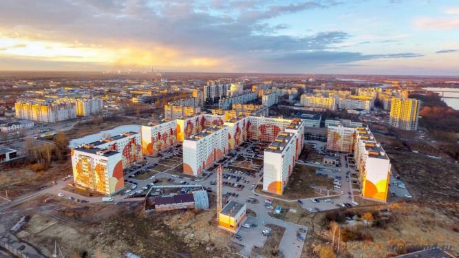 Микрорайон «Северный». © Фото из архива интернет-портала «Новгород.ру»
