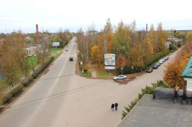 Площадка у завода «Старорусприбор». © Фото газеты «Старая Русса»