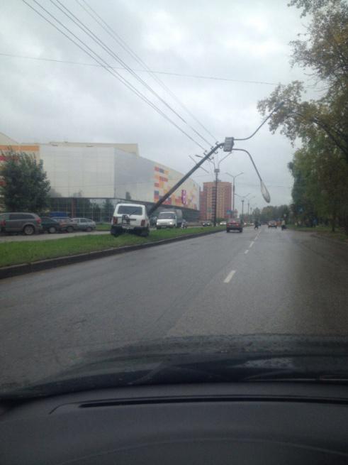 © Фото очевидца происшествия Алексея Александровича