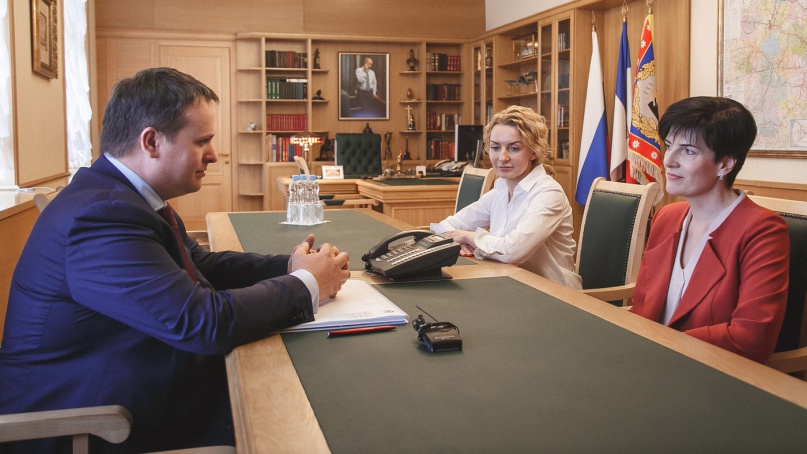 Татьяна Васильева (в красном). © novreg.ru