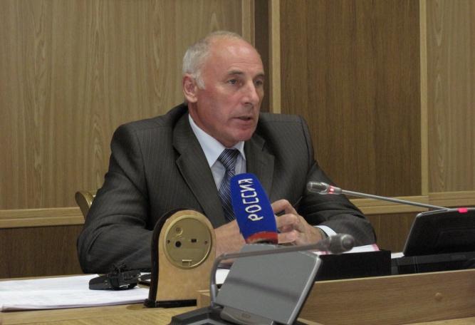 Председатель избирательной комиссии Новгородской области Борис Алексеев.
