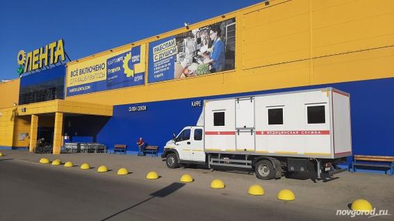 В Великом Новгороде продолжается выездная вакцинация от коронавируса
