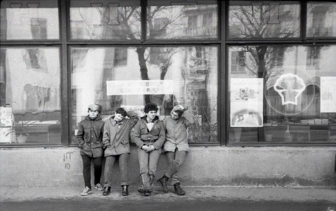 Магазин «Прометей». 1989 год. © Архив московской школы №706
