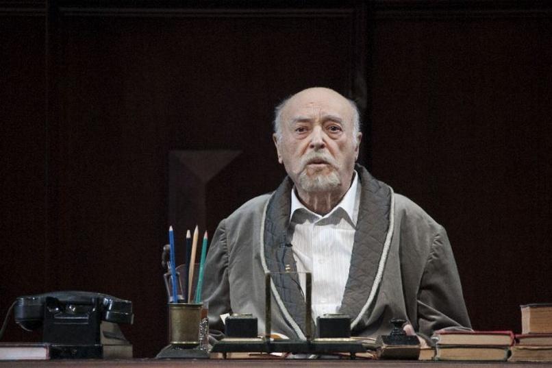 Владимир Этуш на спектакле «Окаемовы дни» в 2013 году. © Театра имени Вахтангова
