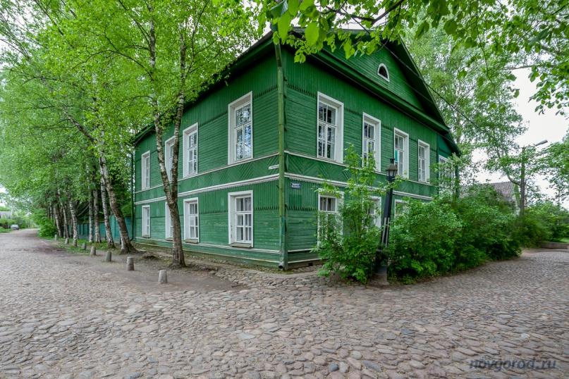 Дом-музей Ф.М. Достоевского в Сатрой Руссе.