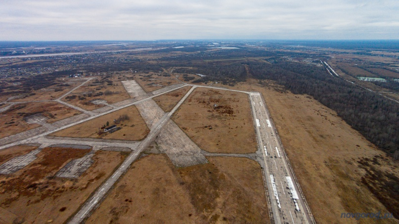 Аэропорт в Кречевицах. © Фото из архива интернет-портала «Новгород.ру»