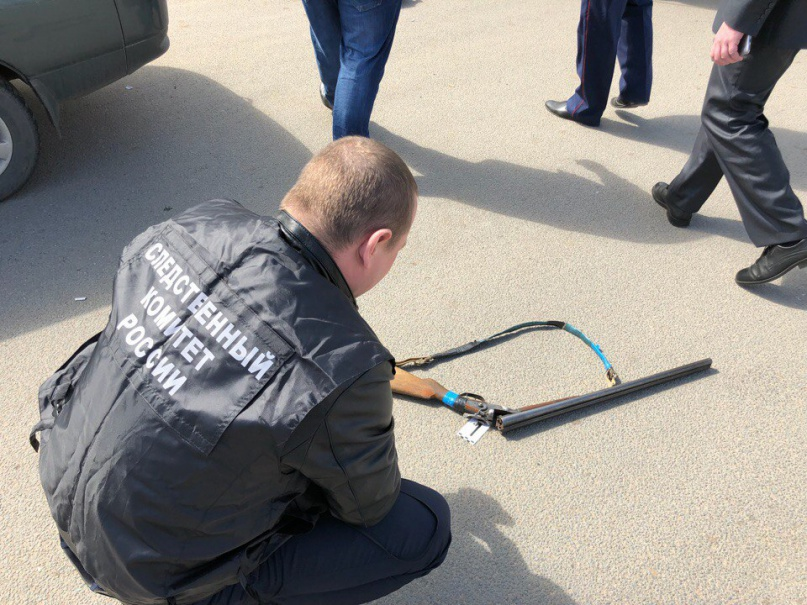 Таксист был ранен во время стрельбы 3 мая. © Фото пресс-службы следственного управления СКР по Новгородской области