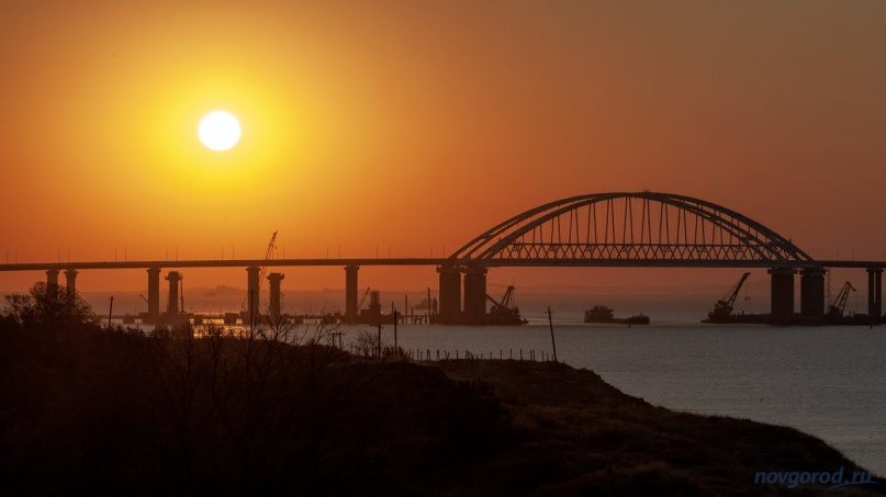 Крымский мост. © Фото из архива интернет-портала «Новгород.ру»
