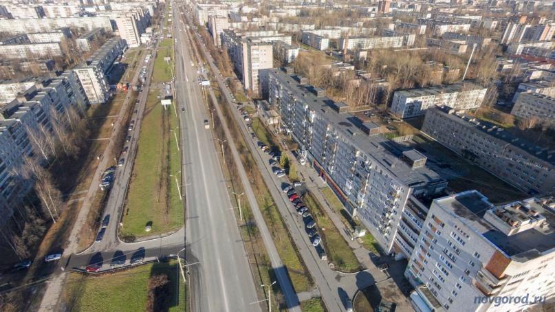 Проспект Мира, 2014 год. © Фото из архива интернет-портала «Новгород.ру»