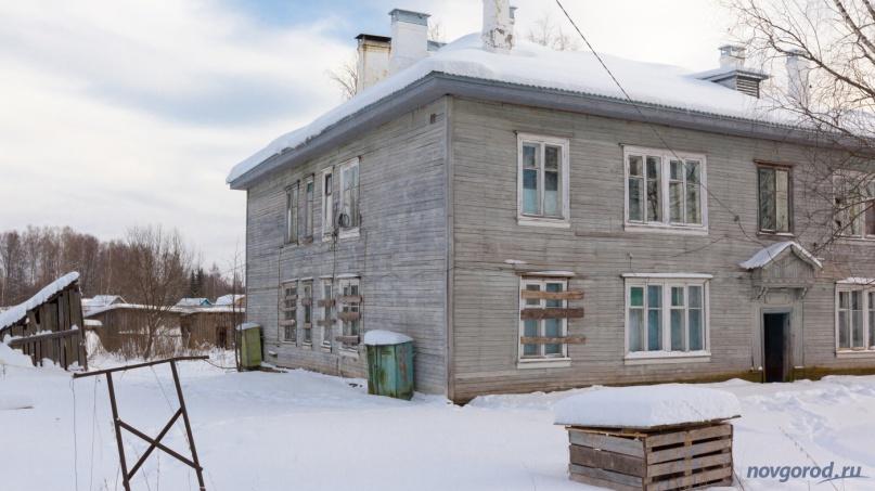 Аварийный дом в Лычково (Демянский район). © Фото из архива интернет-портала «Новгород.ру»