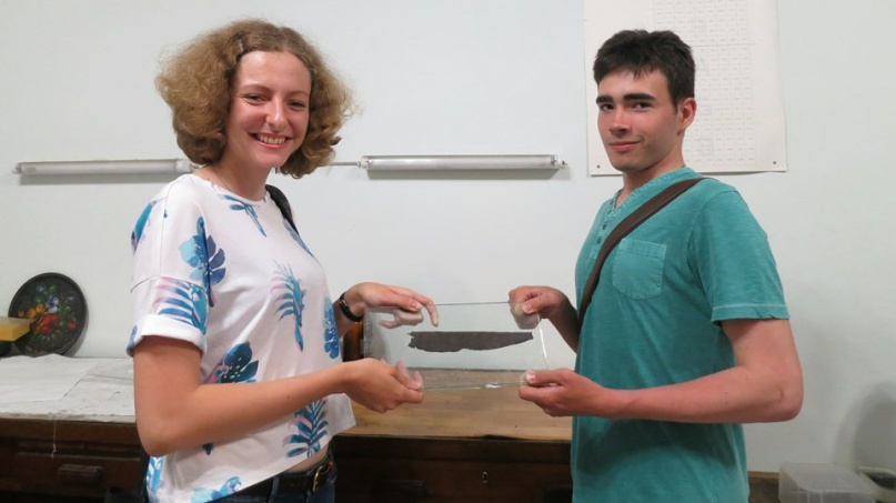 Анастасия Федотова и Георгий Лазаренко. © Новгородский музей-заповедник