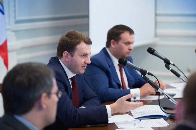 Максим Орешкин. © Пресс-центр правительства Новгородской области