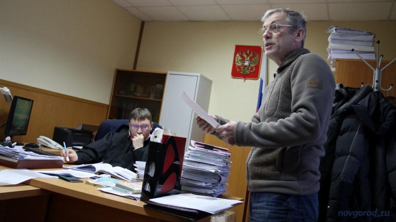 Виктор Шалякин. © Фото из архива интернет-портала «Новгород.ру»