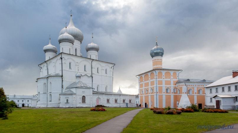 Хутынский монастырь. © Фото из архива интернет-портала «Новгород.ру»