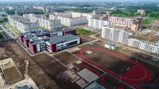 Микрорайон «Ивушки». Фото из архива интернет-портала «Новгород.ру» ©