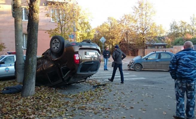 ДПТ 20 октября на ул. Андреевская. © Фото Евгения Игнатенко