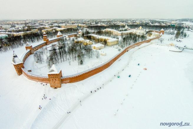 Новгородский кремль. © Фото из архива интернет-портала «Новгород.ру»