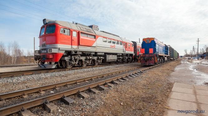 Тепловозы на станции Мологской железной дороги. © Фото из архива интернет-портала «Новгород.ру»