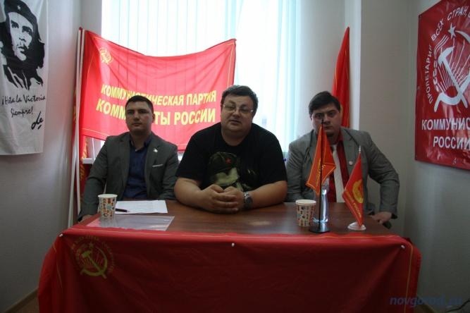 Слева направо: Виталий Кириллов, Дмитрий Перевязкин, Кирилл Морозов. © Фото из архива интернет-портала «Новгород.ру»