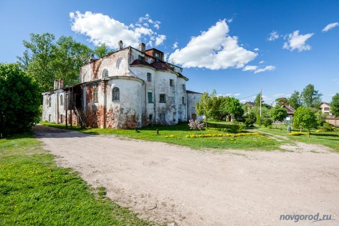 Церковь Ильи Пророкана Славне. © Фото из архива интернет-портала «Новгород.ру»