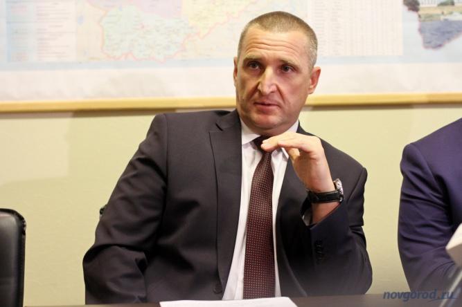 Руководитель регионального департамента транспорта и дорожного хозяйства Александр Тарасов.