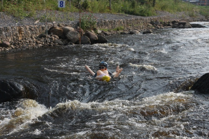 Тестирование Окуловского гребного канала. © Фото предоставлено организаторами «Bubble Baba Challenge»