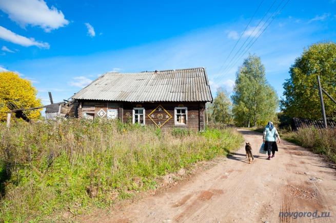 Деревня Ольховка Устьволмского сельского поселения.