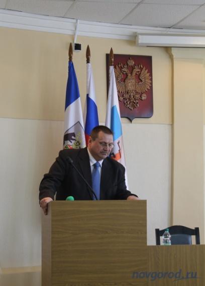 Будущий глава Боровичского района: революцию я устраивать не буду