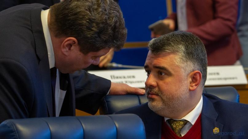Тимофей Гусев (справа). © Фото из архива интернет-портала «Новгород.ру»