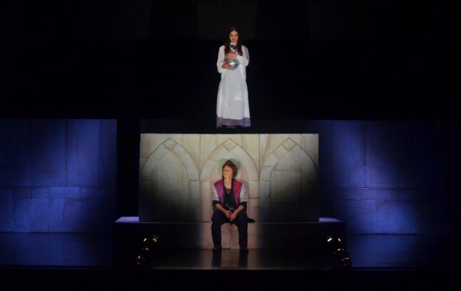 Спектакль «Ромео и Джульетта». © Пресс-центр театра «Малый»