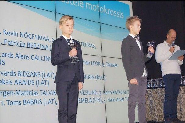 Десятилетний Боровичанин Елисей Орешкин стал серебряным призером интернационального Кубка помотокроссу