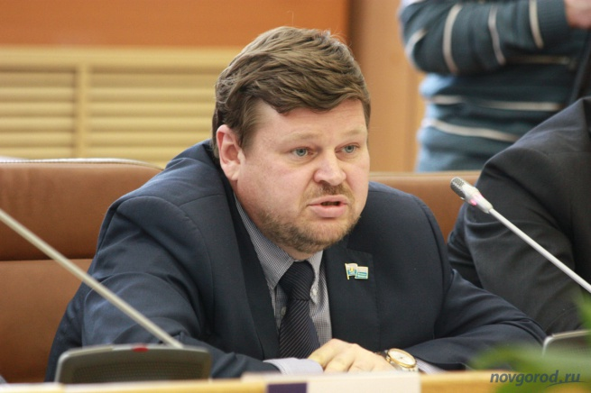 Депутат городской думы Константин Демидов.