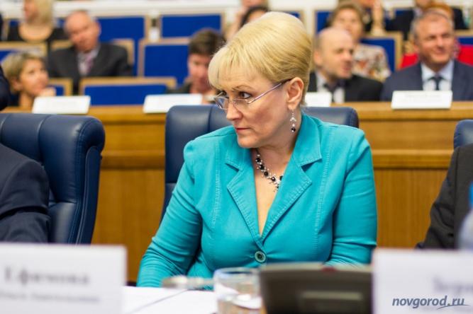 Ольга Ефимова. © Фото из архива интернет-портала «Новгород.ру»