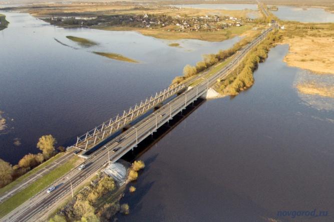 «Синий» мост. © Фото из архива интернет-портала «Новгород.ру»