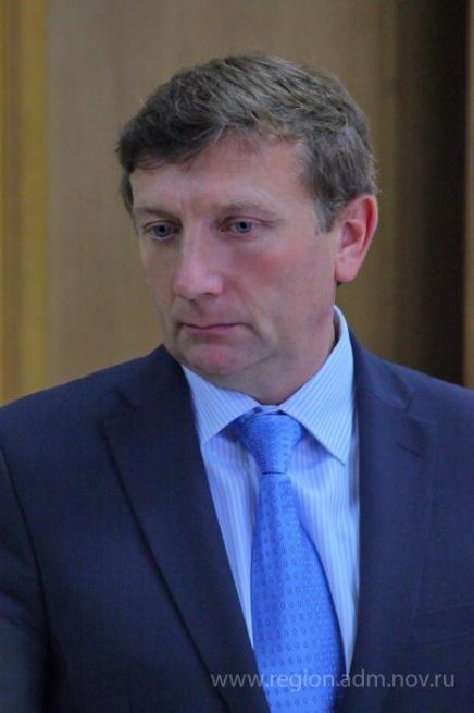 Владимир Петров. © Фото с сайта www.novreg.ru