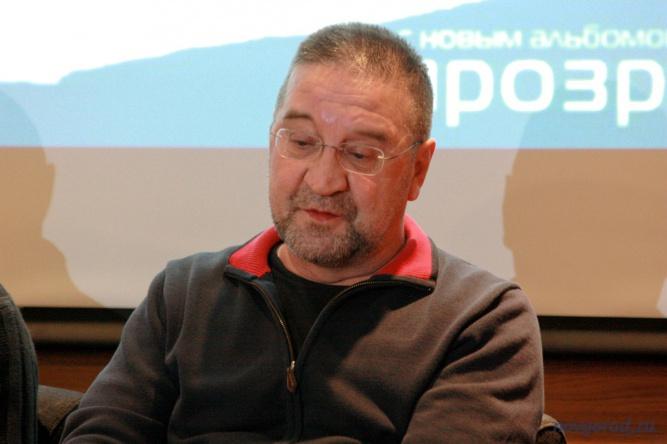 Лидер группы ДДТ Юрий Шевчук.