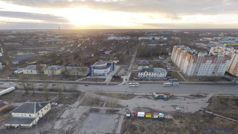 улица Сенная (прямо). © Фото из архива интернет-портала «Новгород.ру»
