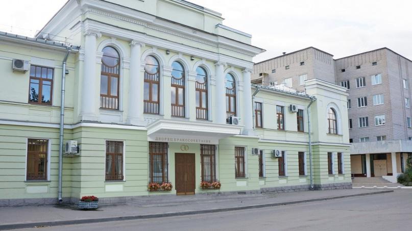© Эскиз проекта дворца бракосочетаний. © Комитет ЗАГС и ООДМС по Новгородской области
