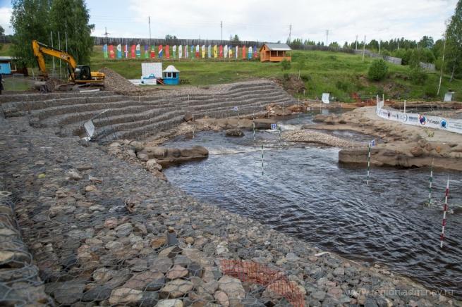 Гребной канал в Окуловке. © Фото С. Суфтина с сайта http://region.adm.nov.ru/